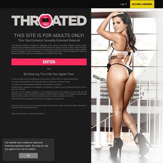 Throated Porn- Hard Face Fuck & Deepthroat Porn