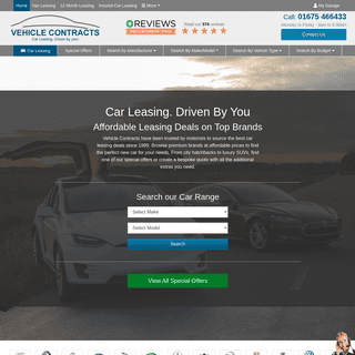 Vehicle Contracts - Car Leasing Driven By You