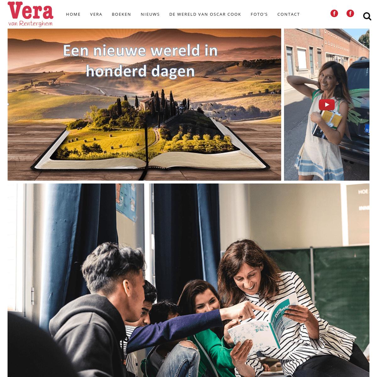 Vera Van Renterghem - Kinderboekenschrijfster - Auteur
