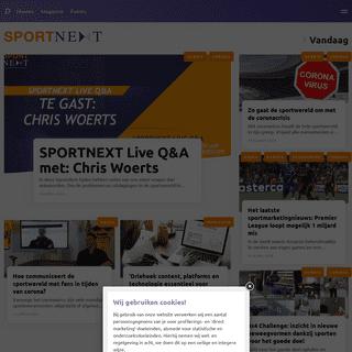 Homepagina - SPORTNEXT - De sportmarketing community