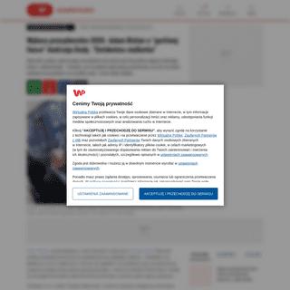 Wybory prezydenckie 2020. Adam Bielan o -gorliwej fance- Andrzeja Dudy. -Ewidentna stalkerka- - WP Wiadomości