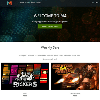 Indie Video Game Publisher And Developer - Buy Online - Meridian4