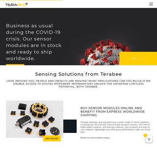 Sensing Solutions - TOF Technology - High Performance Sensors