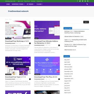 Wordpress Themes & Plugins Free Download Network - FreeDownload.network