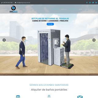 ArchiveBay.com - sanigroup.com.ec - SaniGroup – Soluciones profesionales en higiene portátil