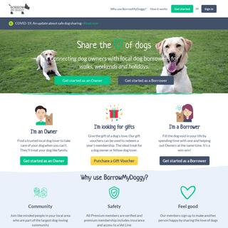 ArchiveBay.com - borrowmydoggy.com - BorrowMyDoggy - Local Dog Walking, Sitting & Holiday Care