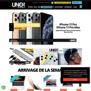 UNO.ma ⎪UNO.ma 1er -Select Store- au Maroc
