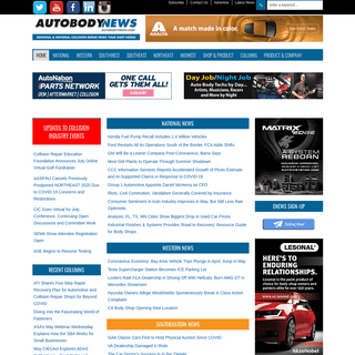 Autobody News - Regional & National Collision Repair News