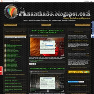 Anantha.blogspot.com