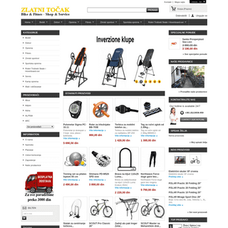 Zlatni Tocak-Bike&Fitnes shop