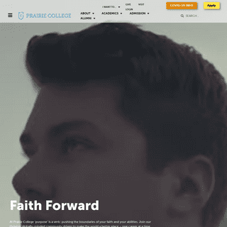 Homepage - Prairie College - Canada - Christian College