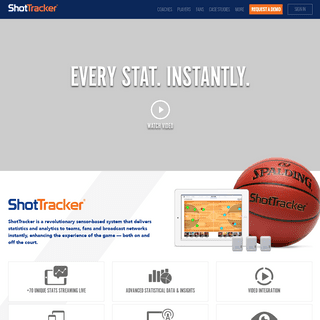Automatic, Real-Time Basketball Stats and Analytics - ShotTracker