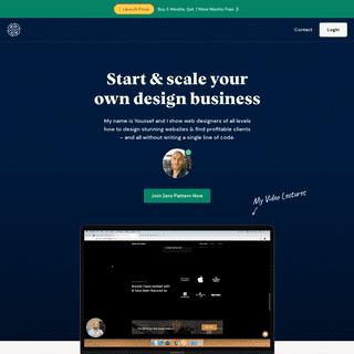 Zero Pattern - Start & Scale Your Web Design Business
