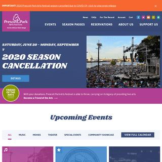 Prescott Park Arts Festival - Music, Art, Theater and Dance