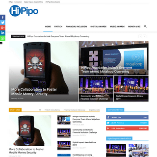HiPipo - Digital - Financial Inclusion - Events - Awards - Music