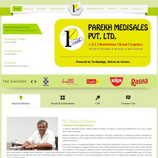 A complete backup of parekhgroupindia.com
