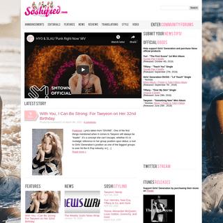 ArchiveBay.com - soshified.com - Soshified (소시파이드) - Girls' Generation (SNSD, 소녀시대, So Nyuh Shi Dae, 少女時代, Shōjo Jidai) International