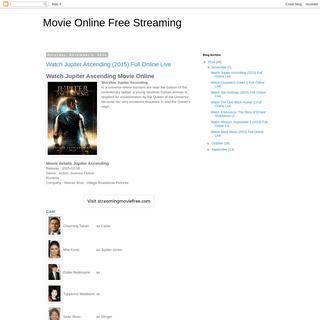 Movie Online Free Streaming