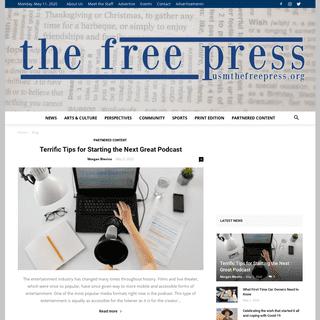 ArchiveBay.com - usmfreepress.org - The Free Press - The University of Southern Maine's student voice since 1972.