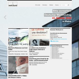 Werkbund – deutscher werkbund e.V