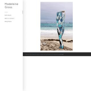 home - Madeleine Gross