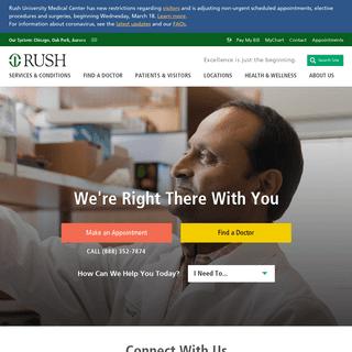A Top US & Chicago Hospital - Rush University Medical Center