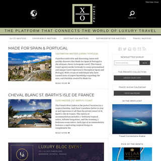 XO Private - Discover a world away from the ordinary.