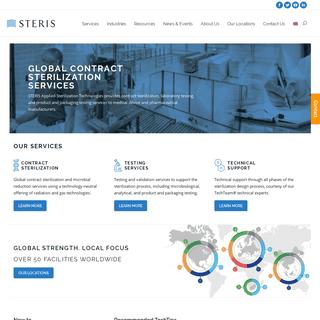 Contract Sterilization & Decontamination Services - STERIS AST