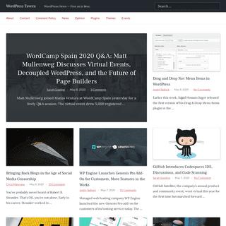 WordPress Tavern – WordPress News — Free as in Beer.