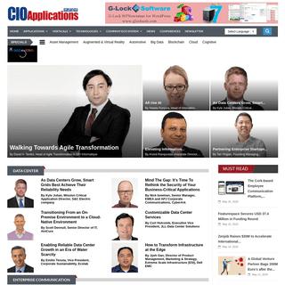Technology Magazine for Europe - CIO Applications Europe