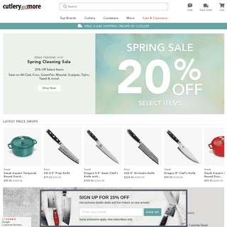 Cutlery and More - Kitchen Knives, Chef's Knives & Cookware from Wusthof, All-Clad, Zwilling J.A. Henckels, Le Creuset