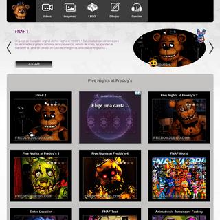 Five Nights at Freddy's- Cancion, Vídeos, Freddy Fazbear Pizza Juegos, FNAF 1, 2, 3, 4 Imagenes
