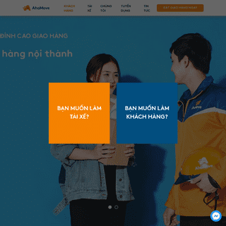 AhaMove - Ứng dụng giao hàng nội thành