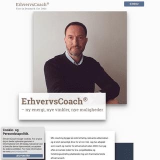 ErhvervsCoach - få ny energi, nye vinkler og nye muligheder