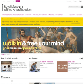 Home – Royal Museums of Fine Arts of Belgium
