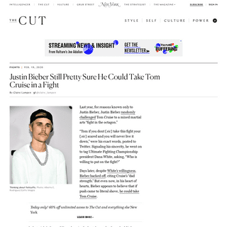ArchiveBay.com - www.thecut.com/2020/02/justin-bieber-still-sure-hed-win-fight-against-tom-cruise.html - Justin Bieber Still Sure He'd Win Fight Against Tom Cruise