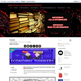 Biblioteca Económica Virtual