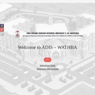 Abu Dhabi Indian School, Branch-1 – Al Wathba