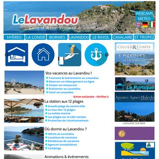 Tourisme au Lavandou - Agenda 2020 - Plages - Webcams - MTO