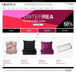 Hemtex - Handla din heminredning och hemtextil online