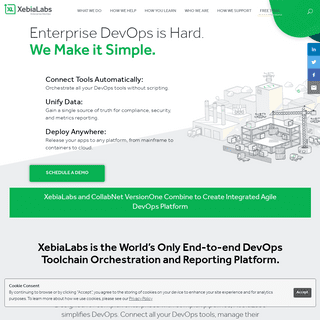 XebiaLabs Enterprise DevOps and Application Release Automation