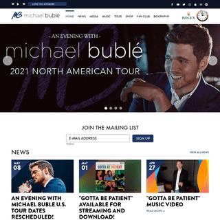 Michael Bublé Official Website