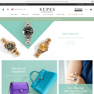 Xupes - Rare, Desirable Items That Once Belonged To Someone Else