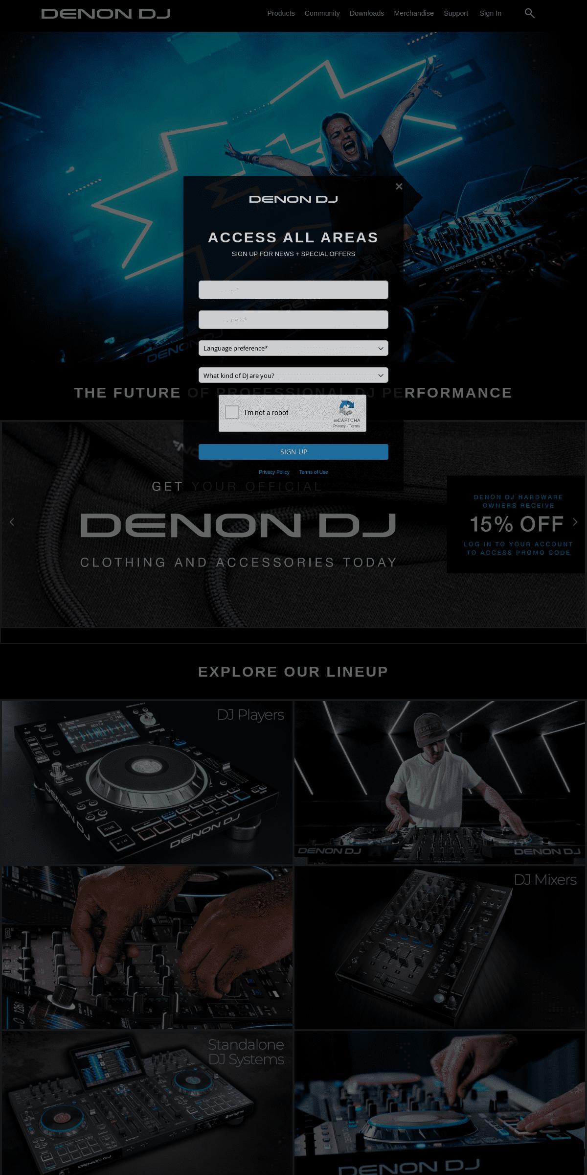 Denon DJ - Professional DJ Equipment