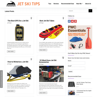 JetSkiTips.com - The -go to- site for information on jet skis, waverunners, and all things PWC.