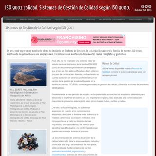 ArchiveBay.com - iso9001calidad.com - Sistemas de Gestión de la Calidad según ISO 9001ISO 9001 calidad. Sistemas de Gestión de Calidad según ISO 9000. - Aprender