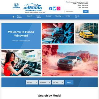 Honda Windward- Honda Dealership Kaneohe HI - Near Honolulu