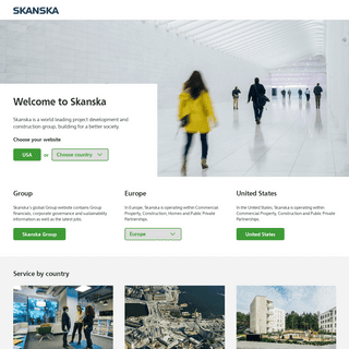 Welcome to Skanska - www.skanska.com
