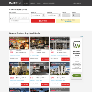 Hotel Deals - Find Hotel Discounts and Cheap Travel Deals - Dealbase