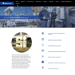 Shermco - Home Page - Shermco industries